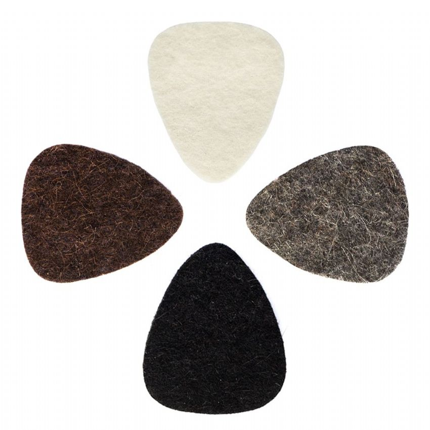 Felt Tones - Pack of 4 Ukulele Picks | Timber Tones